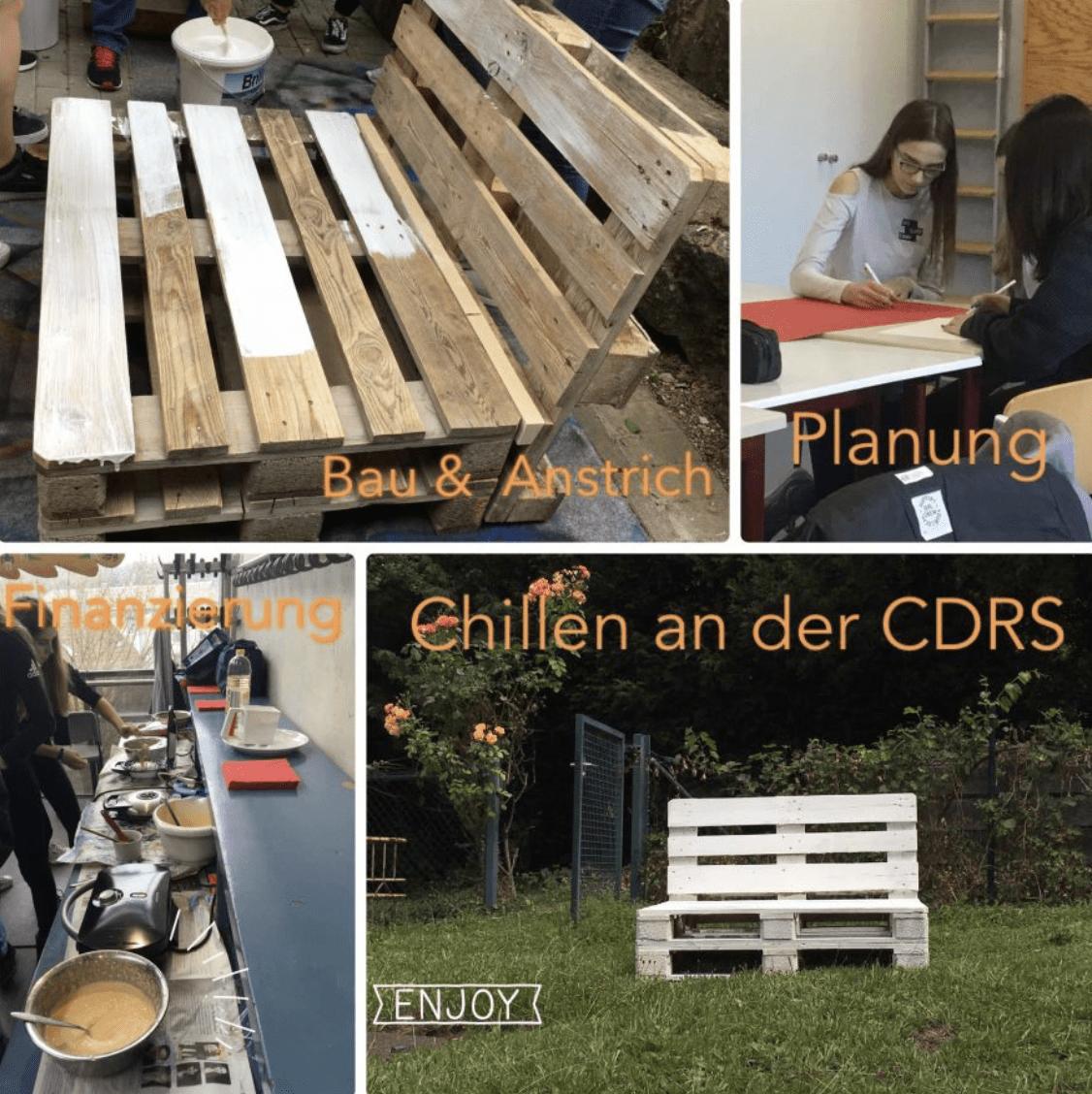 """Lernen durch Engagement // Projekt """"Schulbank   Chillen an der CDRS"""""""