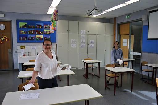 """""""Wir vermissen unsere Schüler immens, aber keiner ist abgehängt"""" Videokonferenzen Schule Remchingen MS TEAMS Hygieneregeln Fernunterricht Digitalisierung Corona Carl Dittler Realschule"""