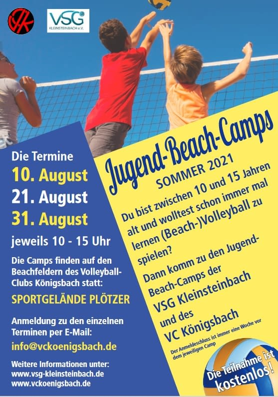 Jugend Beach(volleyball) Camps