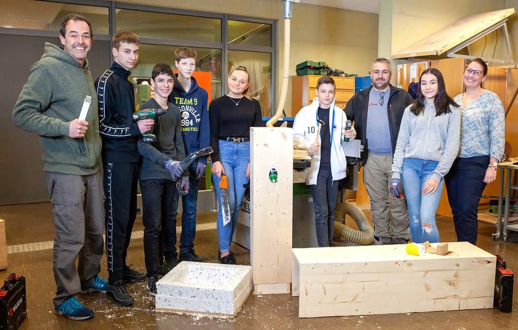 Carl Dittler Realschule für bundesweiten Handwerkswettbewerb ausgewählt Technik Schule Remchingen Projekt CDRS Carl Dittler Realschule Berufsorientierung