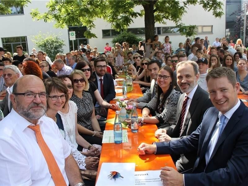 Carl Dittler Realschule im Höhenflug Schulfest Schule Remchingen Realschule Geburtstag Förderverein CDRS Carl Dittler Realschule