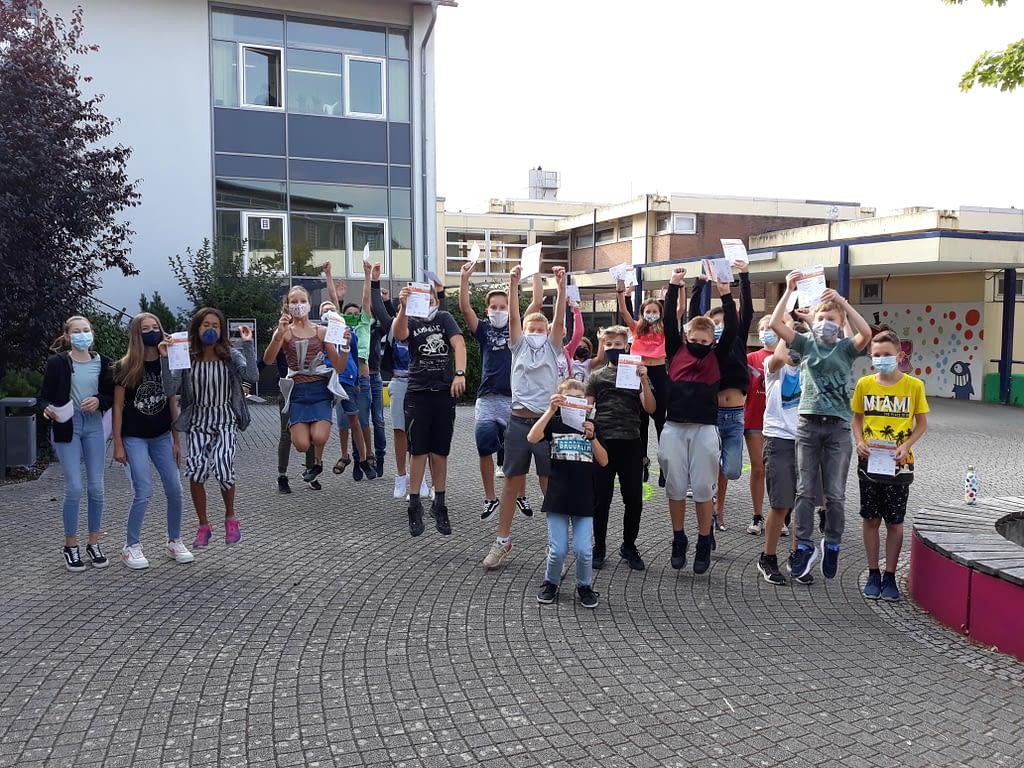 Carl Dittler Realschule ausgezeichnet Wilferdingen Wettbewerb Urkunde Sport Schule Remchingen Carl Dittler Realschule Auszeichnung