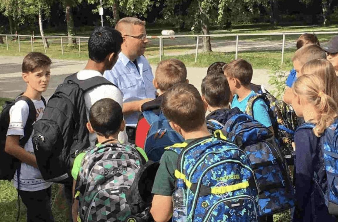 Start an der Carl Dittler Realschule mit einem Bustraining